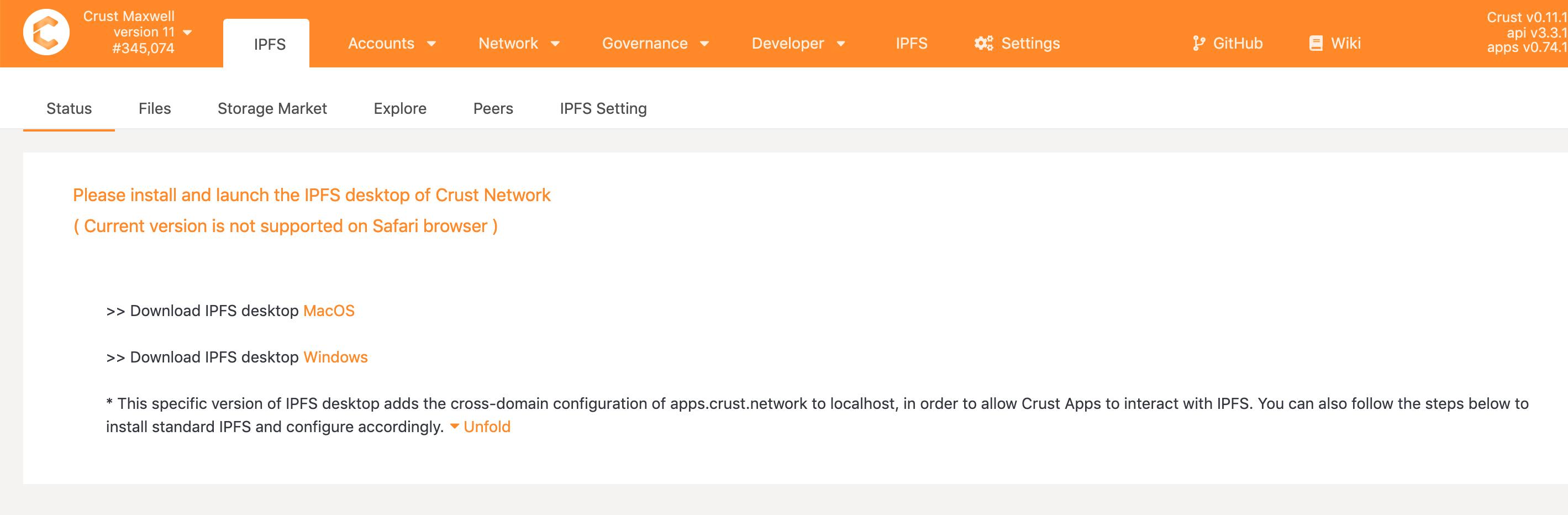Install IPFS
